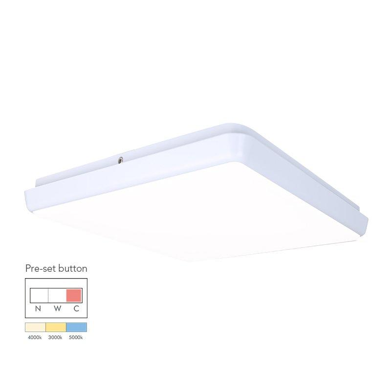 12W Square Dimmable LED Ceiling Lamp