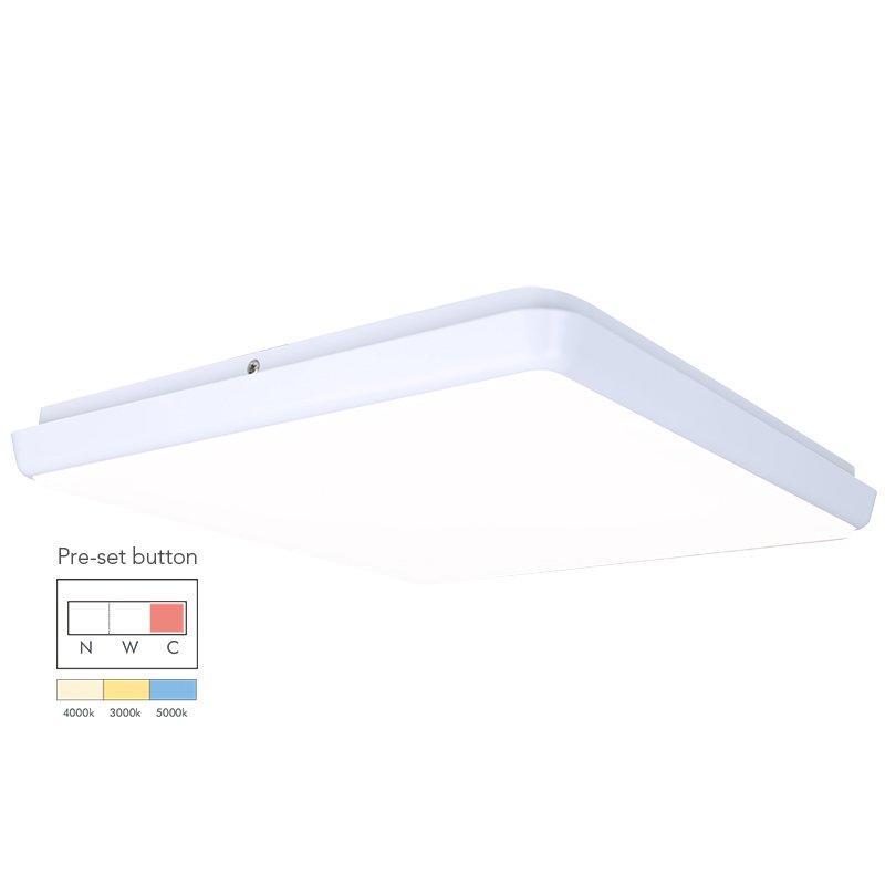 18W Square Dimmable LED Ceiling Lamp