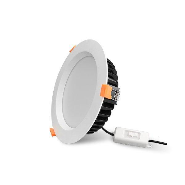 Tri-Color Temperature Aluminum 20W Dimmable LED Downlight
