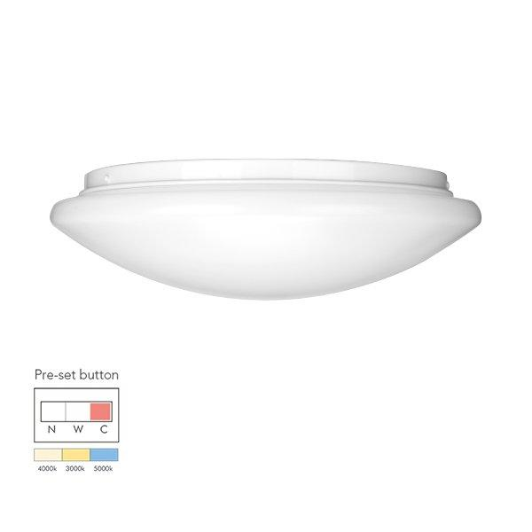 18W Economic tri-color pre-setting LED Ceiling Lamp