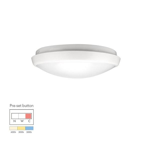12W Economic tri-color pre-setting LED Ceiling Light