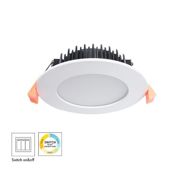 Switch CCT Changeable Residential 13W Dimmable LED Downlight
