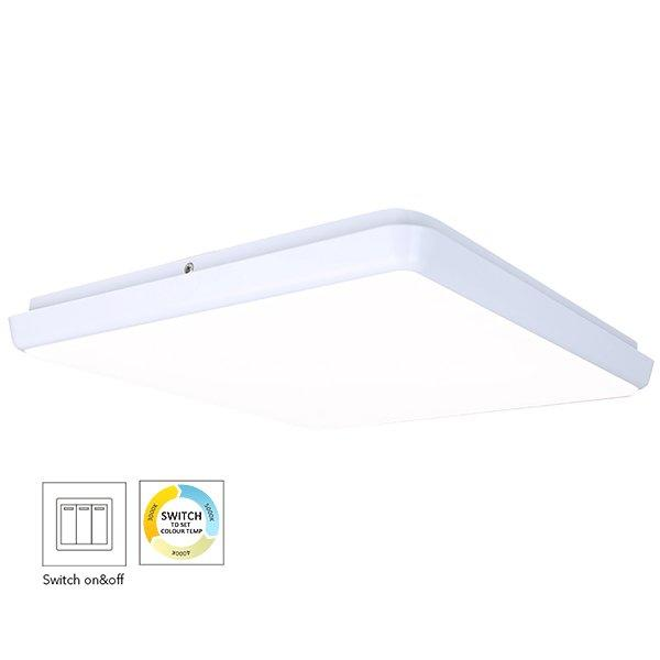 300mm Square Dimmable LED Ceiling Lamp