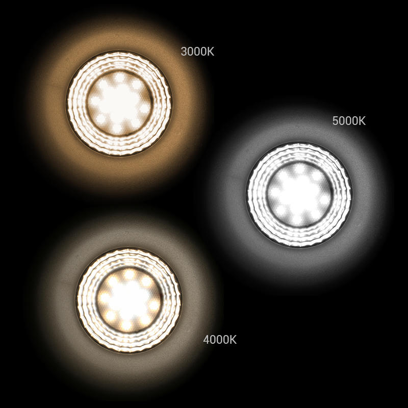 【 SMD(Lens) Tri-color 】Multi-fit 9W Dimmable LED Downlight