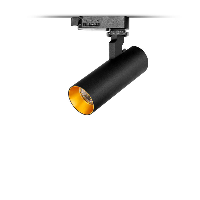 10W Flicker free dimmable track light