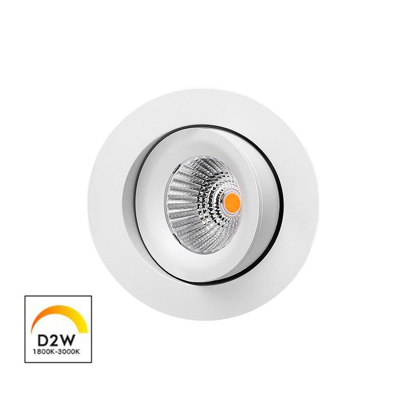 Patented Design 360 Allround Gyro Tilt Dim-to-warm 9W downlight(Reflector)