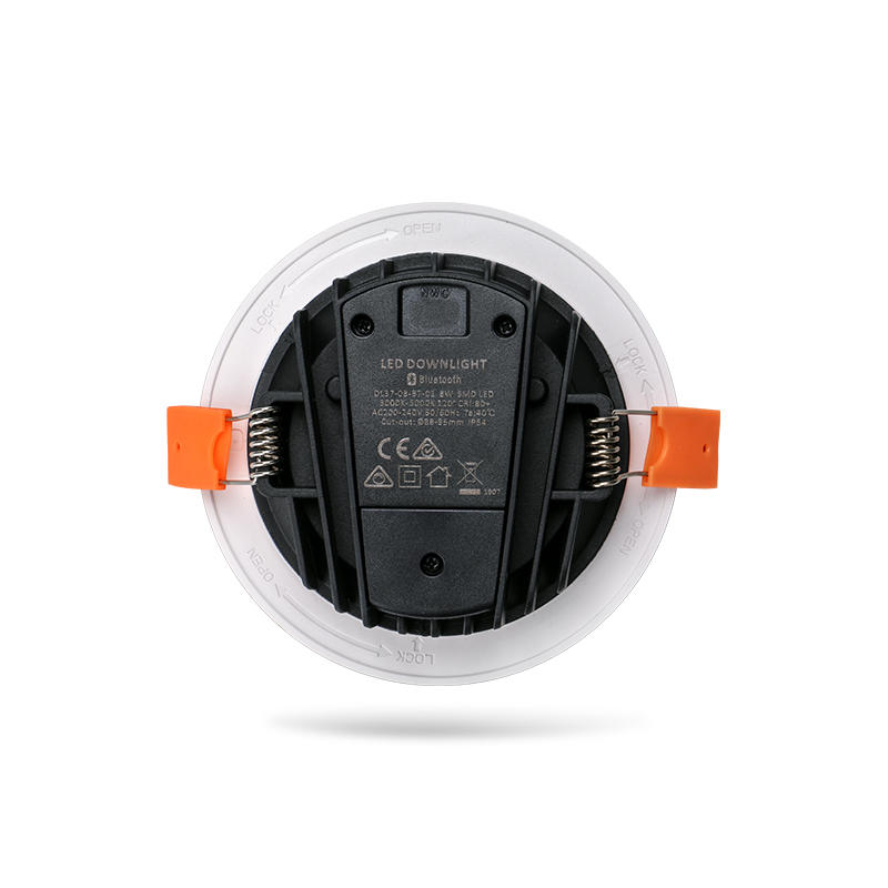 Smart Control Thinner Profile 8W Flat Integrated Multi Downlight
