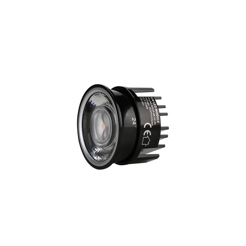 Low Profile Lens 6W COB LED MR16 Module