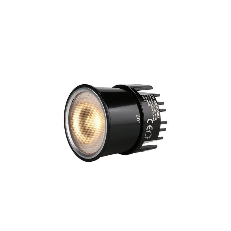 Anti-glare Lens   6W Sunlike COB LED MR16 Module