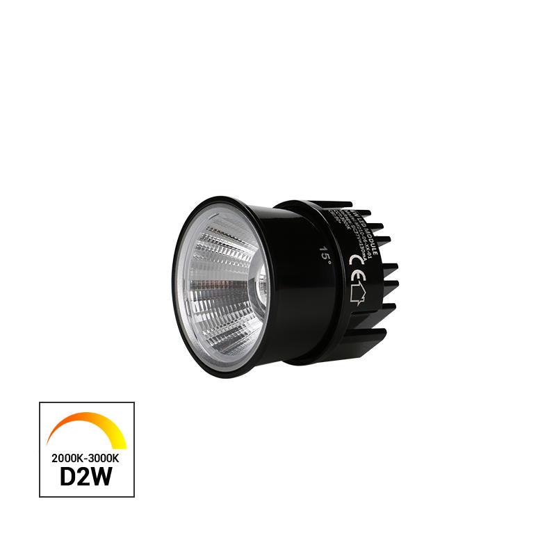 Dim to Warm 6W COB LED MR16 Module