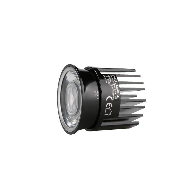 Low Profile Lens 9W COB LED MR16 Module