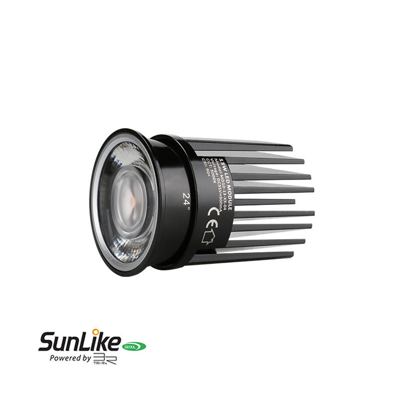 Low Profile Lens 13W Sunlike COB LED MR16 Module