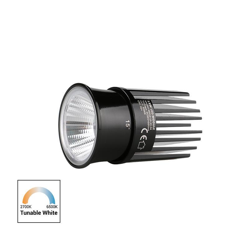 High Efficiency Reflector 13W Tunable White COB LED MR16 Module