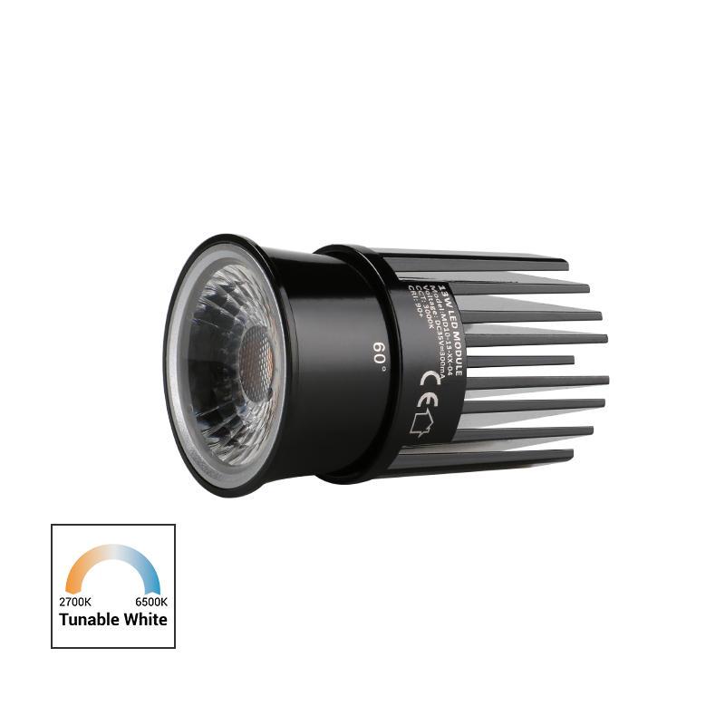 High Efficiency Lens 13W Tunable White COB LED MR16 Module