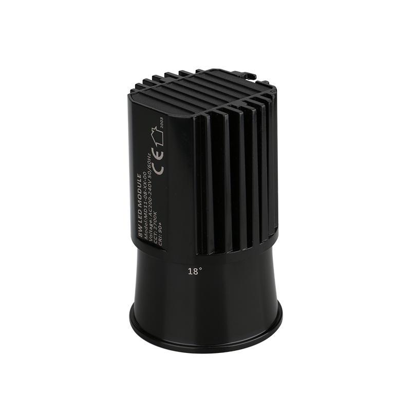 Anti-glare Lens 8W COB LED MR16 Module