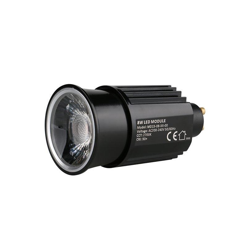 High Efficiency Lens 8W GU10 COB LED MR16 Module