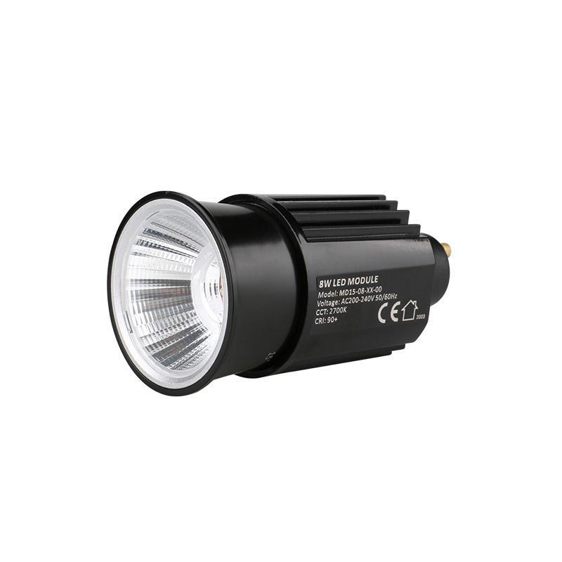 High Efficiency Reflector 8W GU10 COB LED MR16 Module