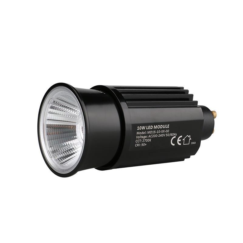 High Efficiency Reflector 10W GU10 COB LED MR16 Module