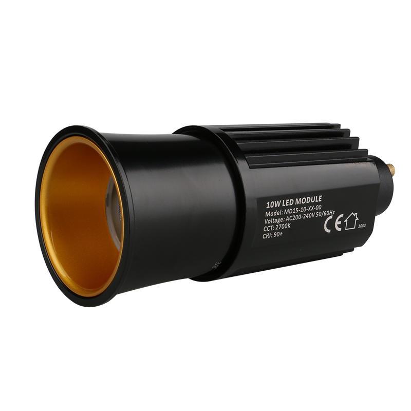 Decorative Lens 10W GU10 COB LED MR16 Module