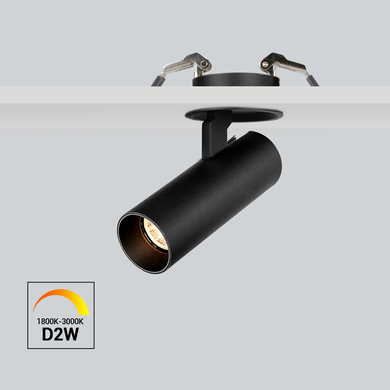 Dim to warm 10W Flicker free dimmable recessed spot light