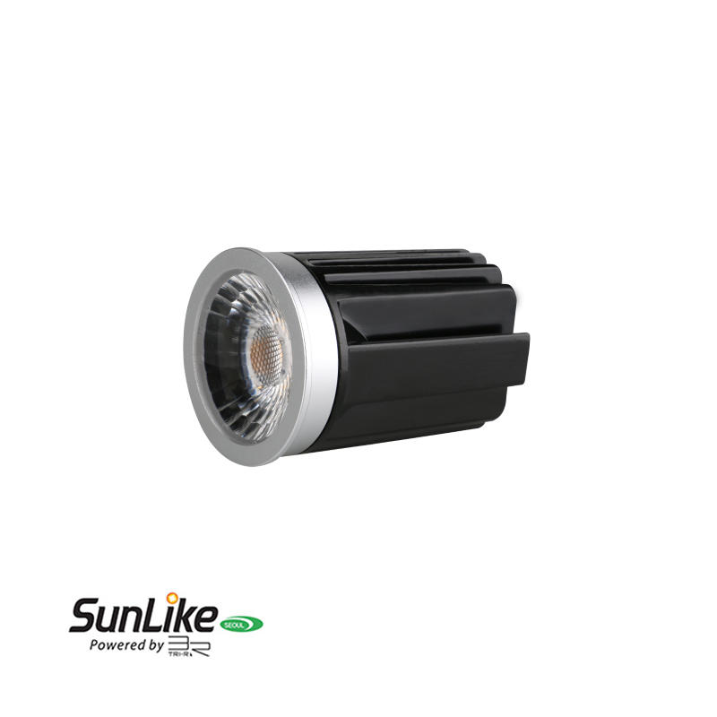 Anti-glare Lens 9W Sunlike COB LED MR16 Module