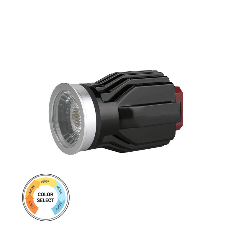 Anti-glare Lens IP54 5-CCT 17W COB LED MR16 Module