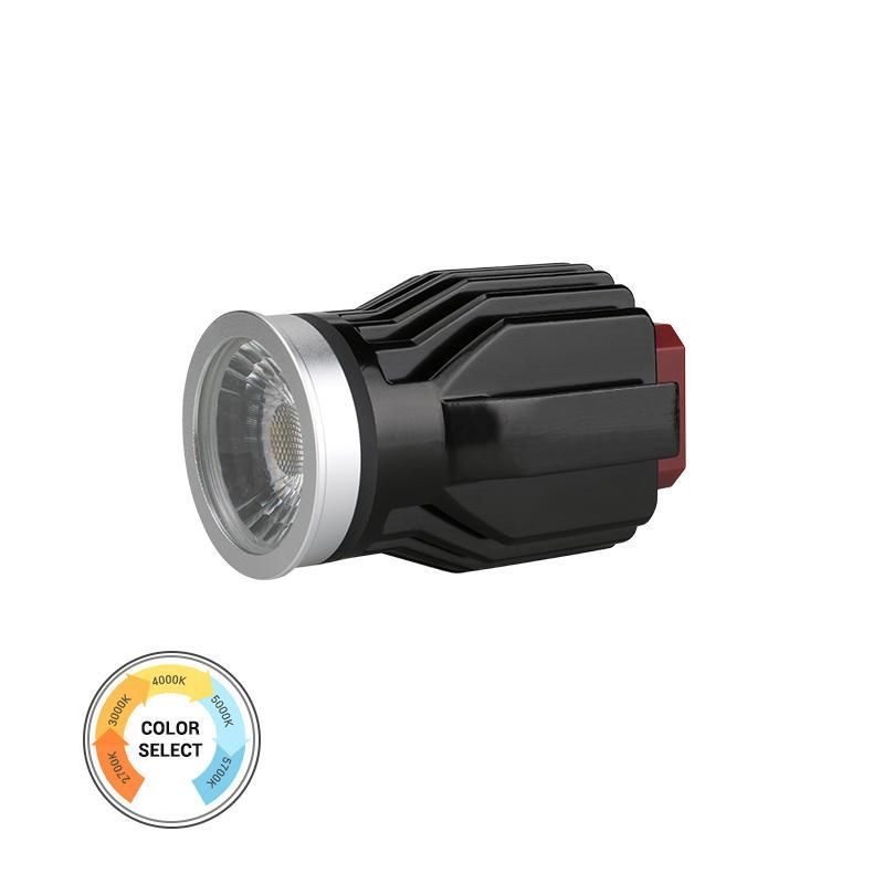 Anti-glare Lens IP54 5-CCT 17W COB LED MR16 Module