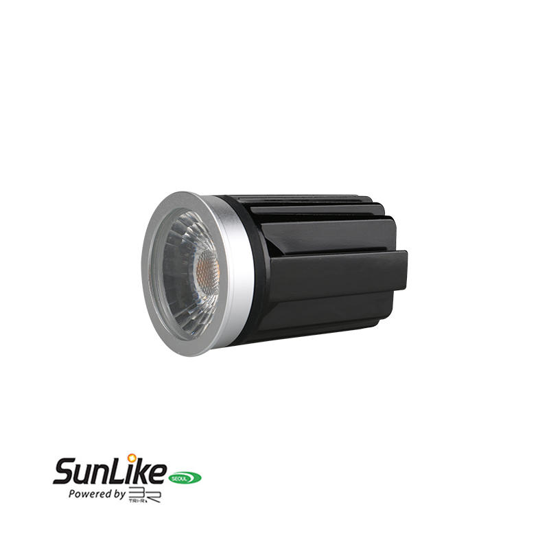 Anti-glare Lens IP54 9W Sunlike COB LED MR16 Module